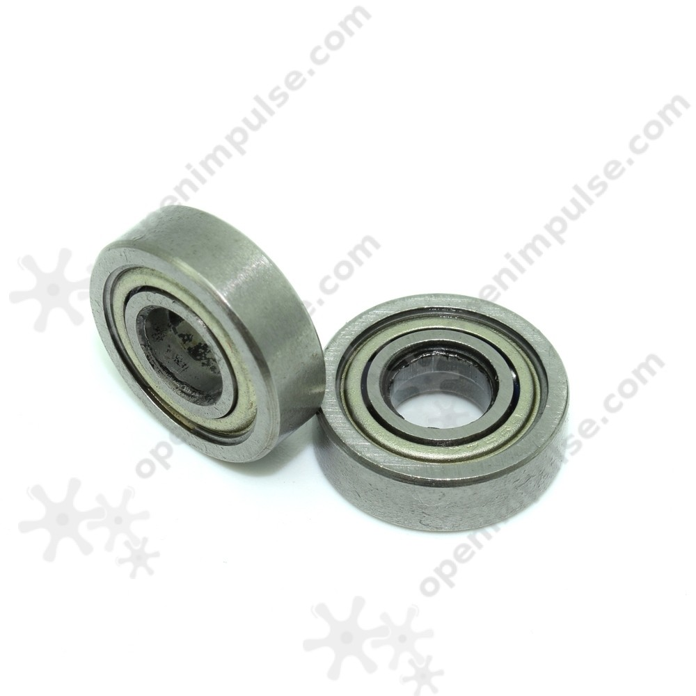 4pcs Miniature Ball Bearing (5mm internal diameter)