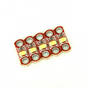 5pcs Set of 5 White LED Modules for LilyPad