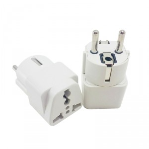 5pcs German Standard Power Adapter