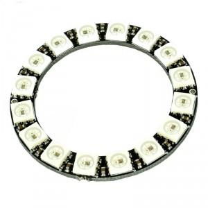 WS2812 RGB LED Ring (16 LEDs)