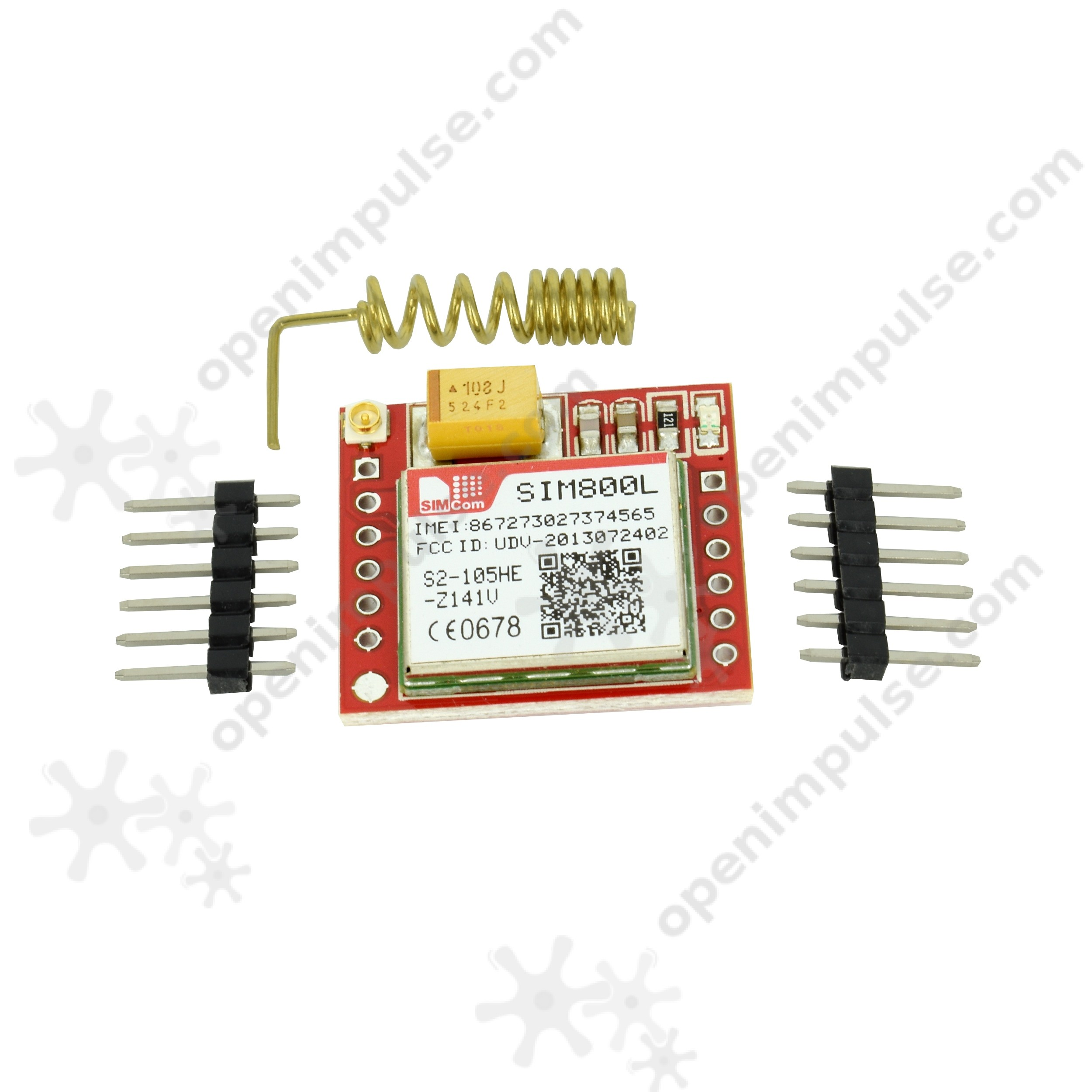 SIM800L GSM Module + PCB Antenna | Open ImpulseOpen Impulse