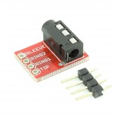 2pcs 3.5 mm Stereo Audio Jack Module