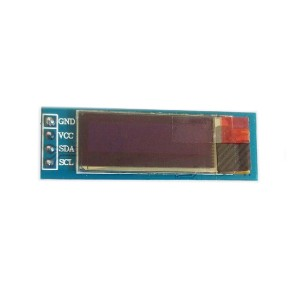 "Blue 0.91"" OLED Module (128×32 px)"