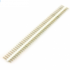 20pcs 40p 2.54 mm Pitch Male Pin Header – White
