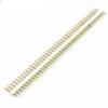 20pcs 40p 2.54 mm Pitch Male Pin Header – White