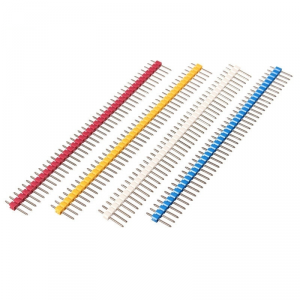 20pcs 40p 2.54 mm Pitch Male Pin Header – Blue