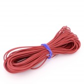 10pcs 1 mm Red Wire (1 meter length)