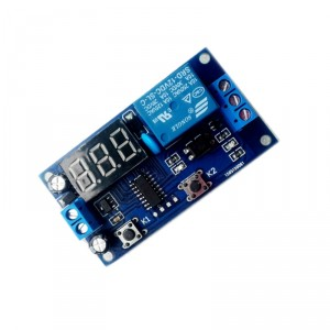 12 V Relay with Timer and Display