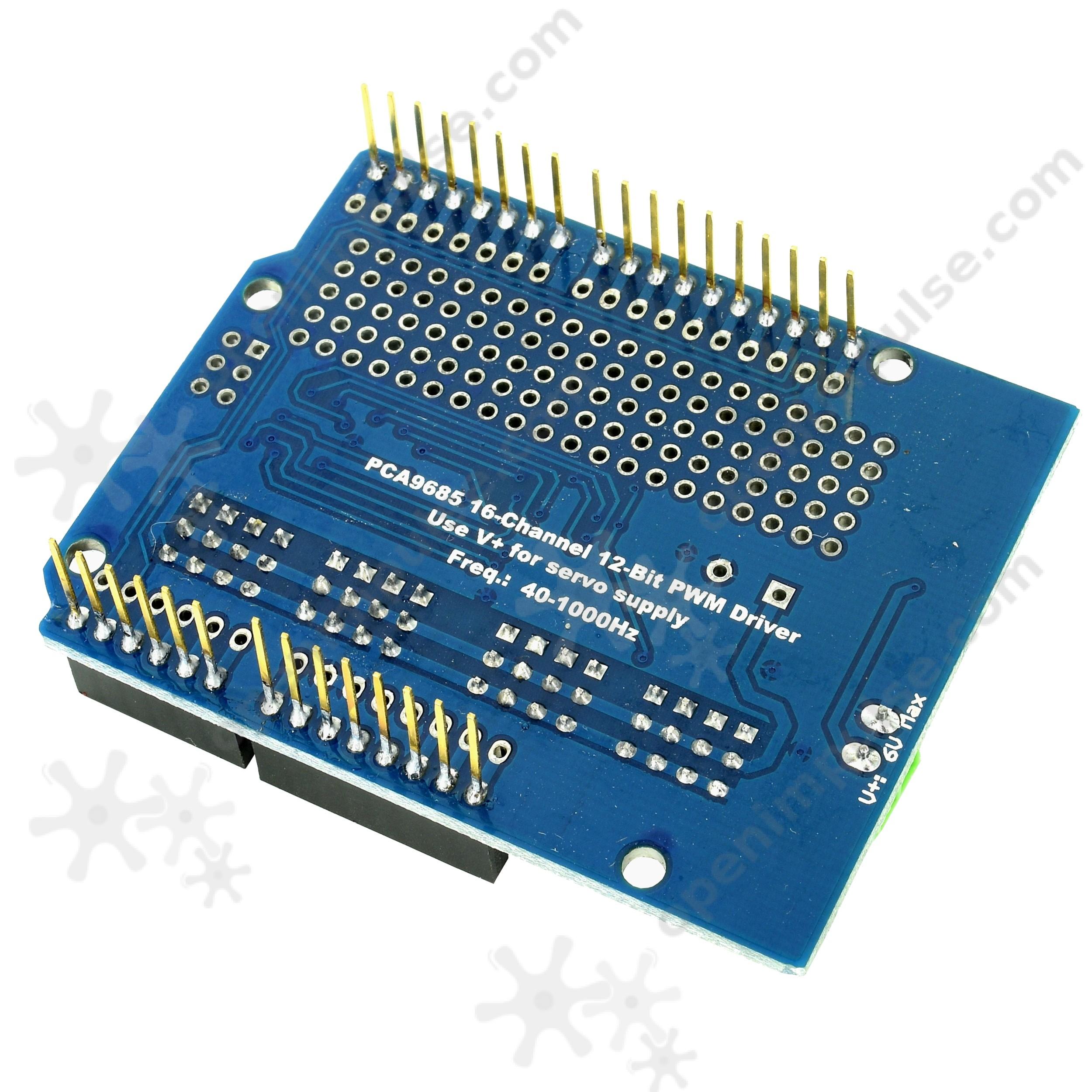 Oh Pca9685 16 Channel 12 Bit Pwm Servo Motor Driver I2c Module For Circuithelp Arduino Micro 1 3