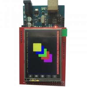 "2.4"" LCD Shield for Arduino Mega"