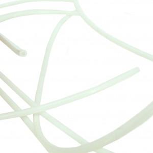2pcs 2×4 mm White Tube for 3D printer