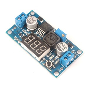 3 A LM2577 DC-DC Boost Module with Voltage Display