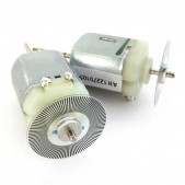 2pcs DC Motor with Speed Encoder Disk