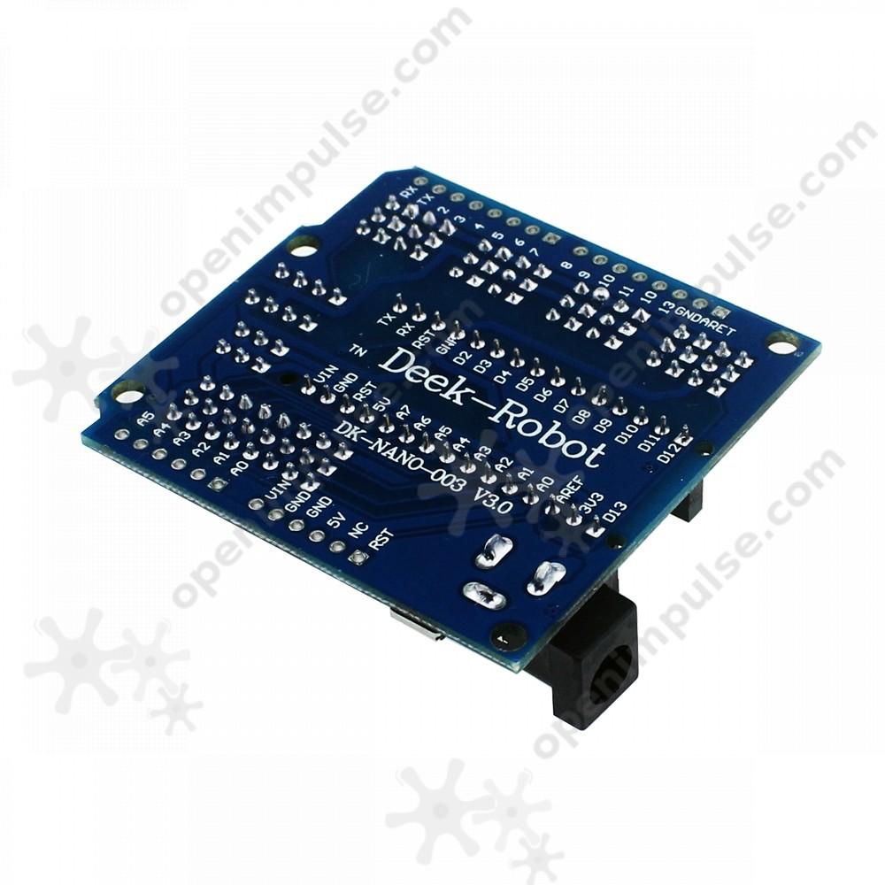 Expansion board for arduino nano open impulseopen impulse