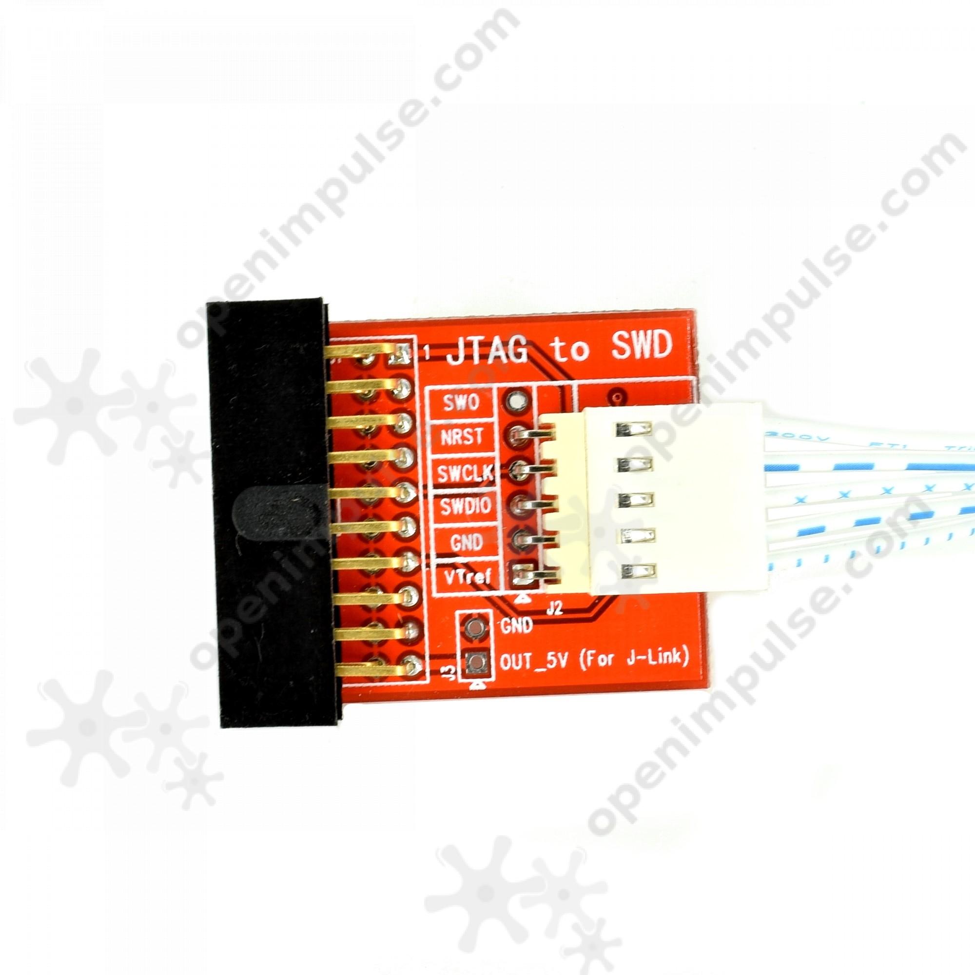 Jtag to swd adapter board open impulseopen impulse
