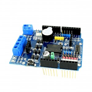 L298P Dual Motor Driver Shield SMD with Buzzer