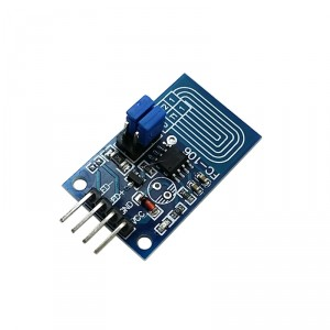 LED Driver with Capacitive Touch Interface