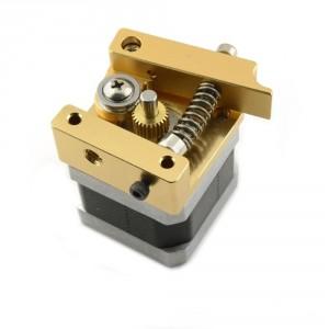 MK Aluminium Block with Reverse Tip for the 3D Printer Head