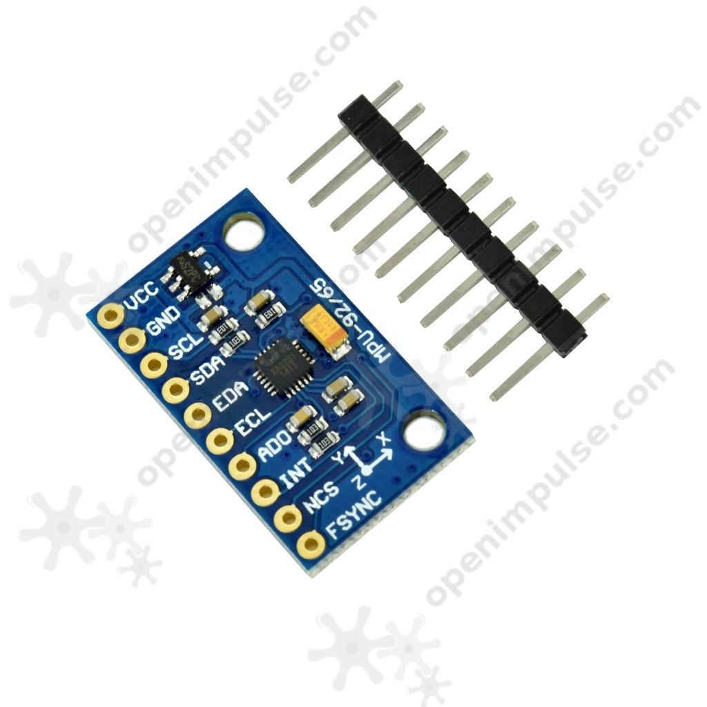 Mpu9250 9 Axis Accelerometer Open Impulseopen Impulse