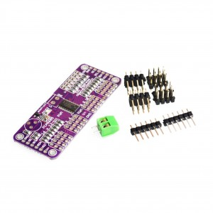 PCA9685 PWM Servo Motor Driver compatible with Raspberry Pi(Arduino-Compatible)