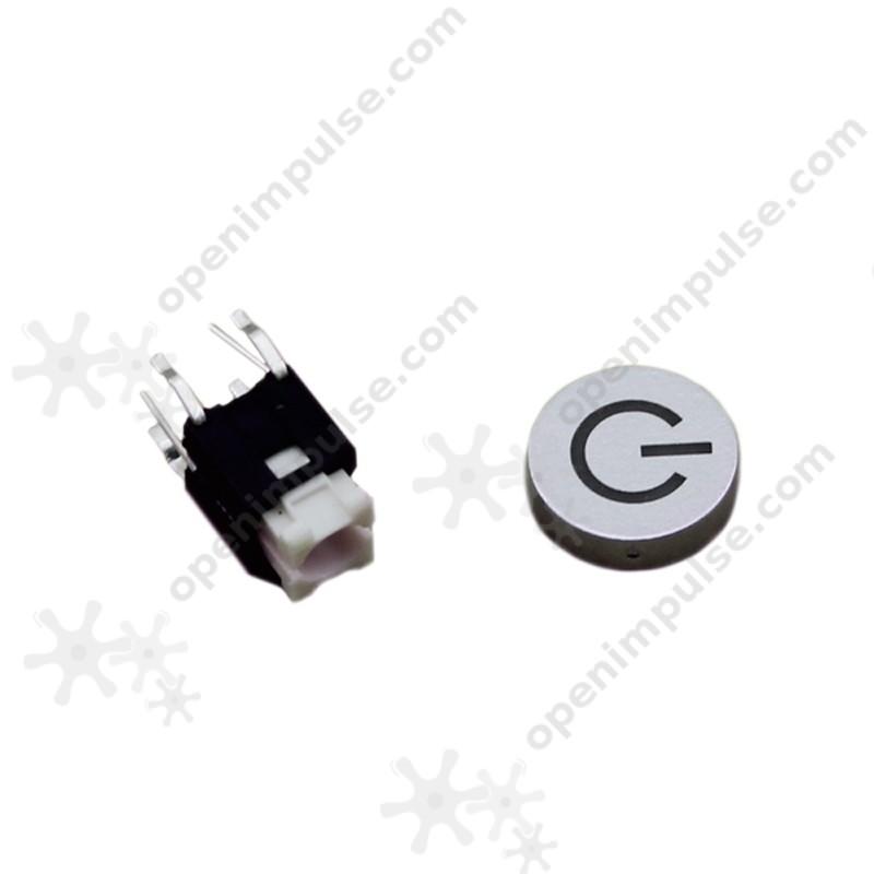 2pcs Power Button with White LED   Open ImpulseOpen Impulse