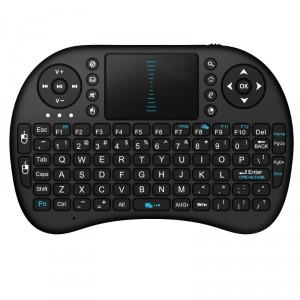 Rii i8+ 2.4 GHz Black Mini Wireless Keyboard