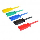 10pcs SMD Test Clip Yellow