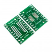 2pcs SOP20, SSOP20 and TSSOP20 to DIP PCB Adapter