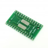 2pcs SOP28, SSOP28 and TSSOP28 to DIP PCB Adapter
