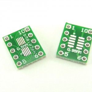 20pcs SOT23, MSOP10 and umax to DIP PCB Adapter