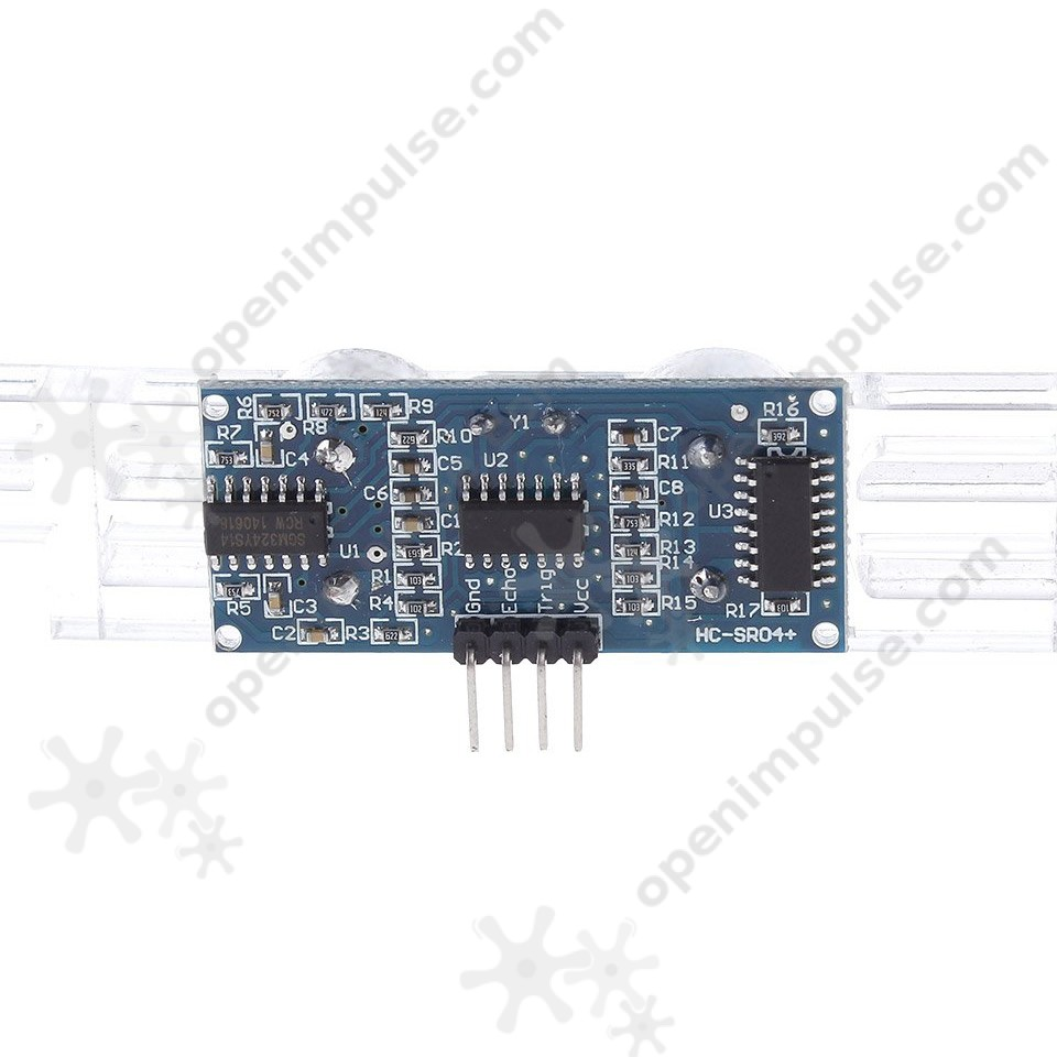 2pcs Hc Sr04 Ultrasonic Distance Sensor 33 V And 5 Compatible Interfacing Sensors With Pic Microcontroller 1 3