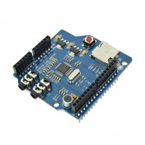 VS1053 Shield for Arduino (with SD Card Slot and Microphone)