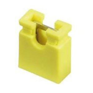 Yellow 2.54 mm Jumper (open top) – 2000 pcs bag