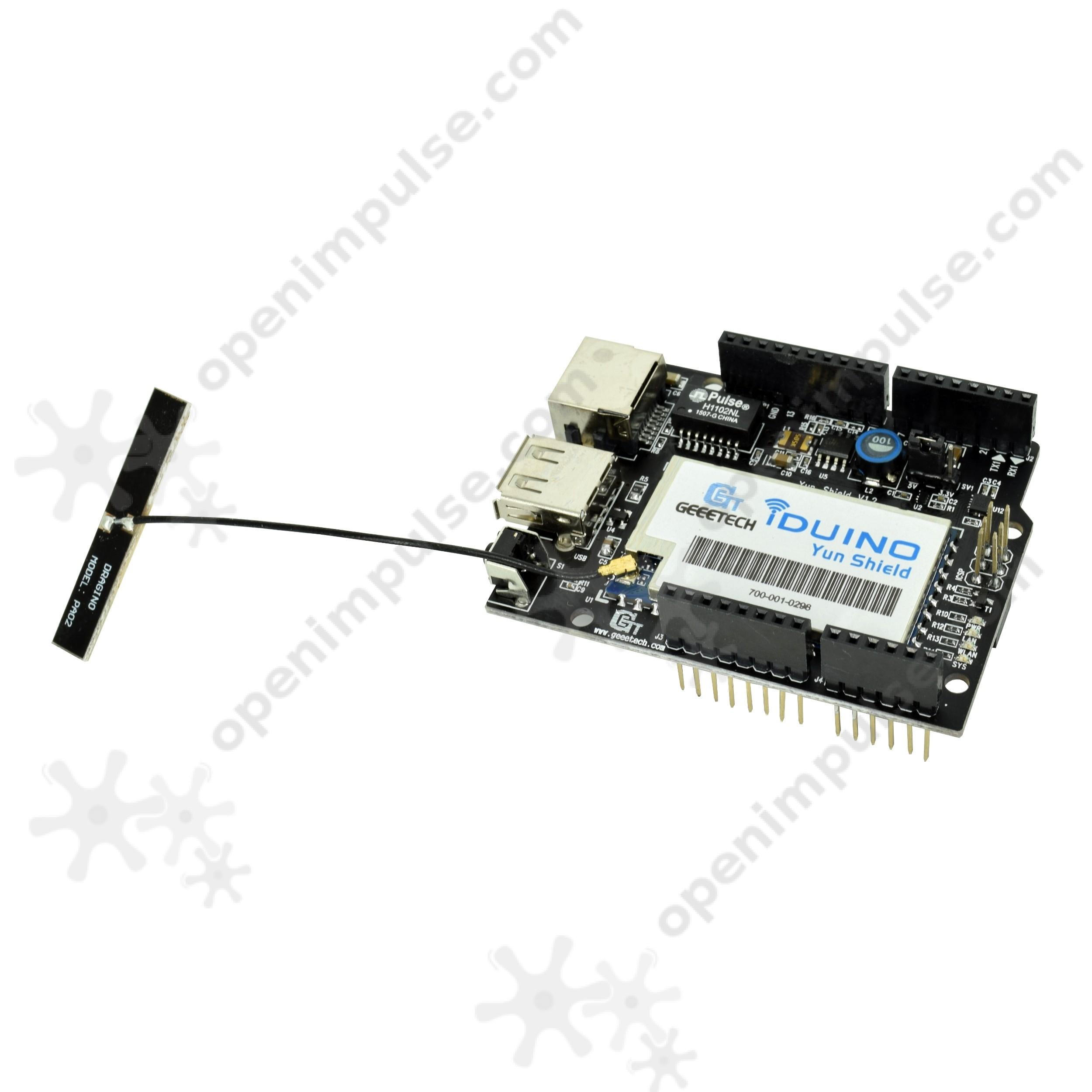 Yun Ethernet Shield for Arduino (LAN + WiFi) | Open