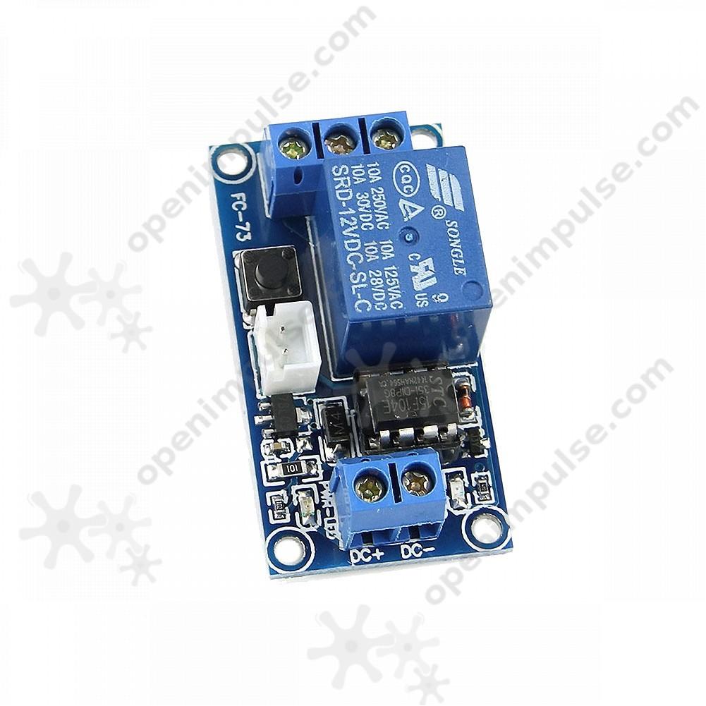 Self Locking Bistable Relay Module Open Impulseopen Impulse Circuit 4 This
