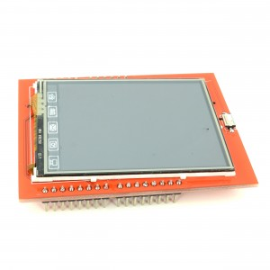 """2.4"""" LCD Shield for Arduino (Red)"""