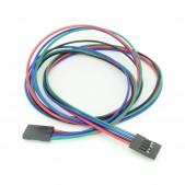 5pcs 4p Cable 70 cm