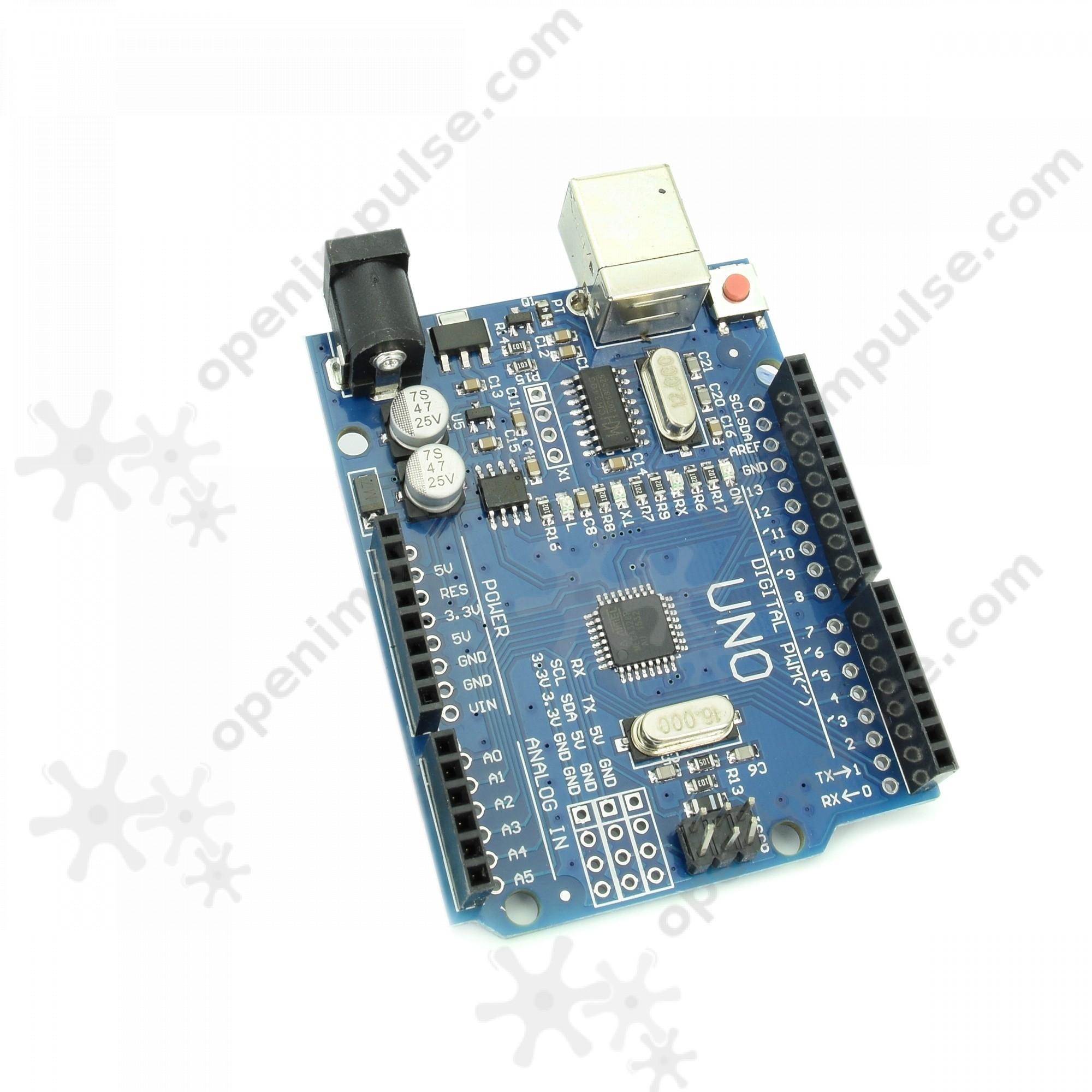 UNO Development Board with ATmega328p and CH340 (Arduino