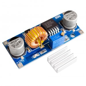 XL4015 5A Adjustable Step Down DC-DC Module (4 – 38 V input)