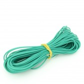 10pcs 1 mm Green Wire, (1 meter length)