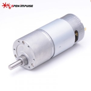 JGB37-550 DC Gearmotor – High Power (840 RPM at 12 V)