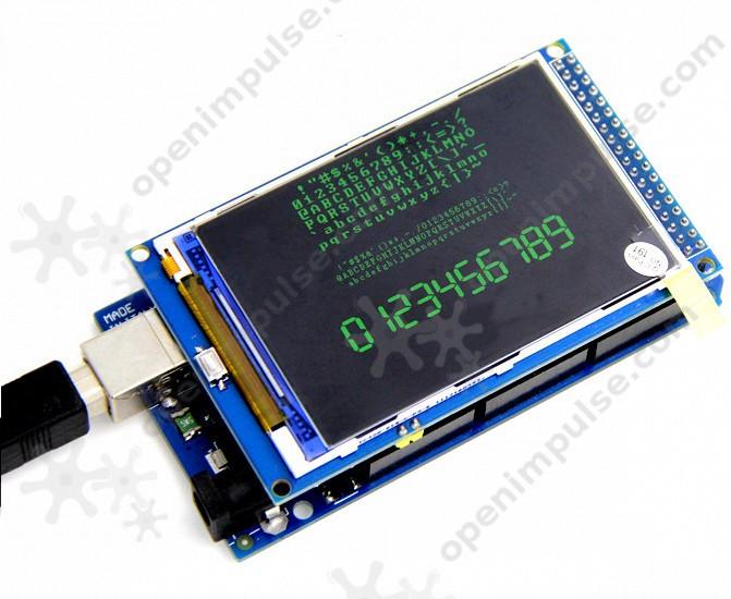 Tft lcd module for arduino mega open impulseopen