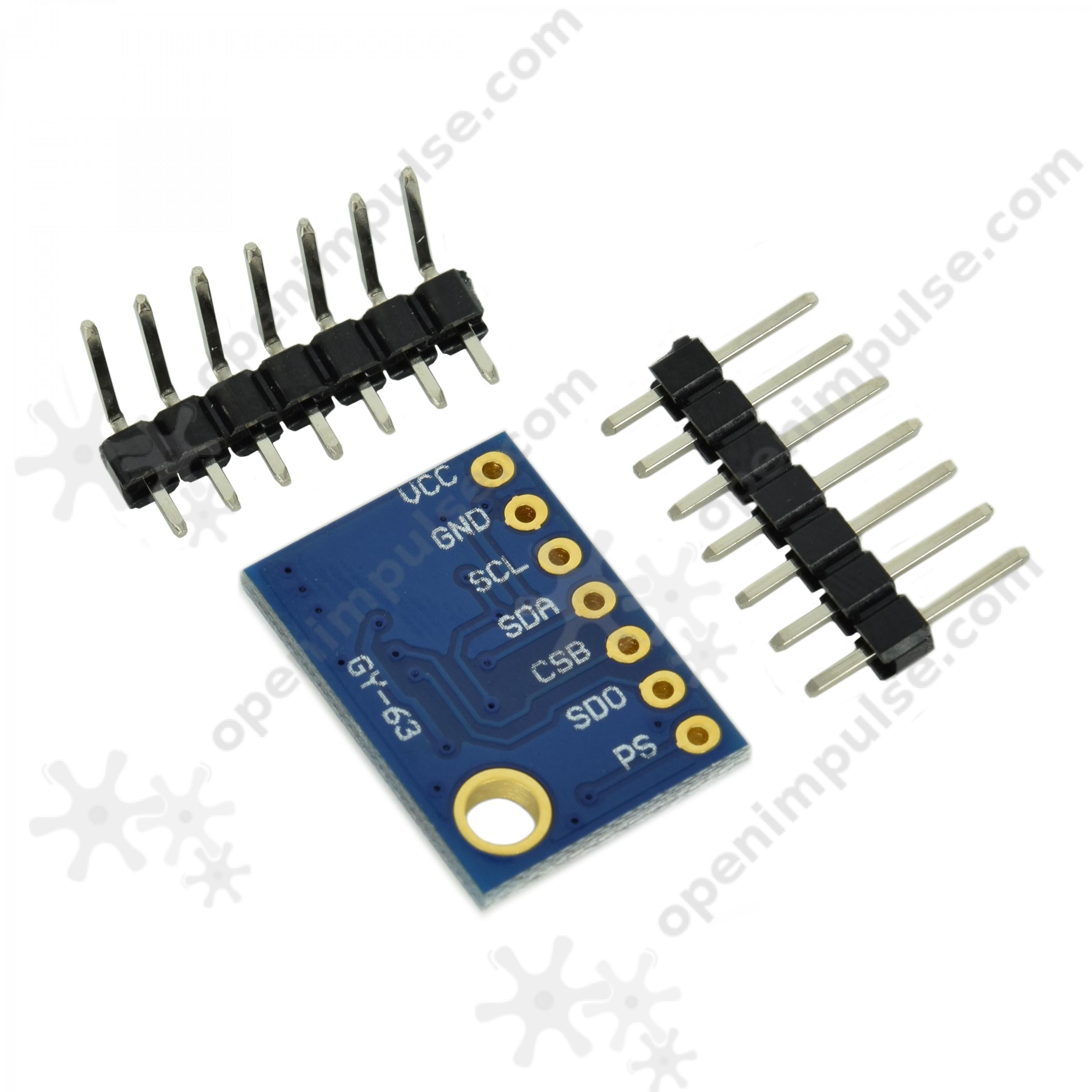 B Baosity MS5611 Barometer Air Pressure Sensor Support Pin Card For