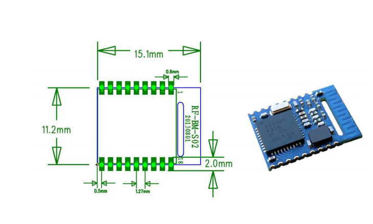 Bluetooth 4 0 BLE Module with CC2540 | Open ImpulseOpen Impulse