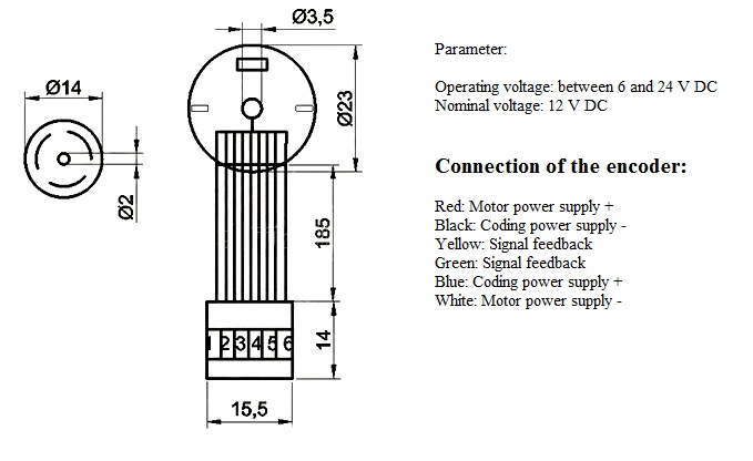 [EQHS_1162]  connecting a dc motor w encoder to arduino shield | Dc Motor Encoder Wiring Diagram |  | Arduino Forum