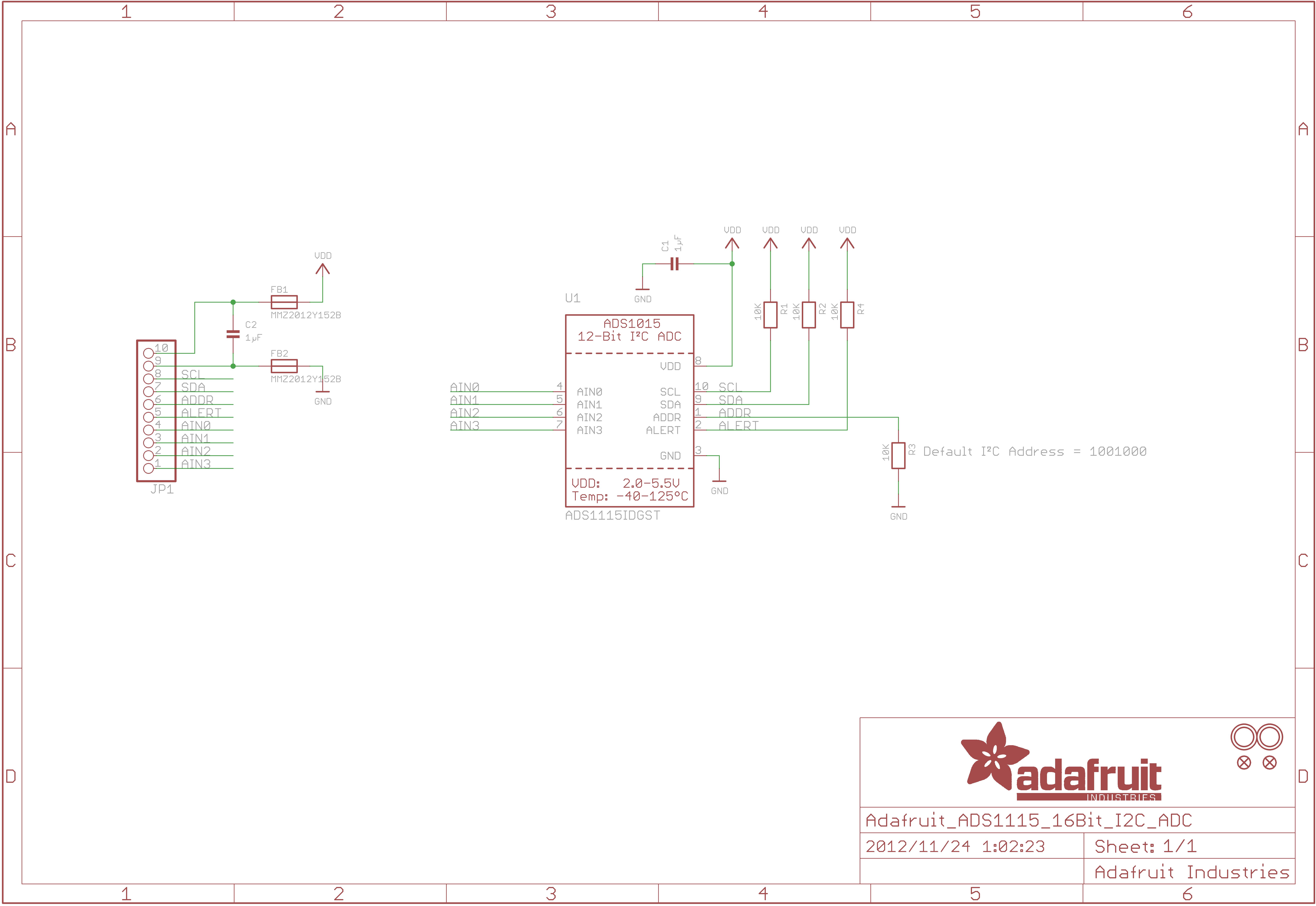 ADS1015 ADC Module   Open ImpulseOpen Impulse